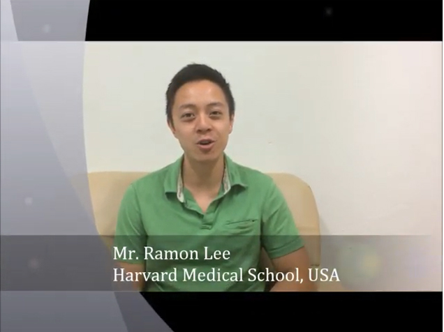 Mr. RAMON LEE from Harvard Medical School