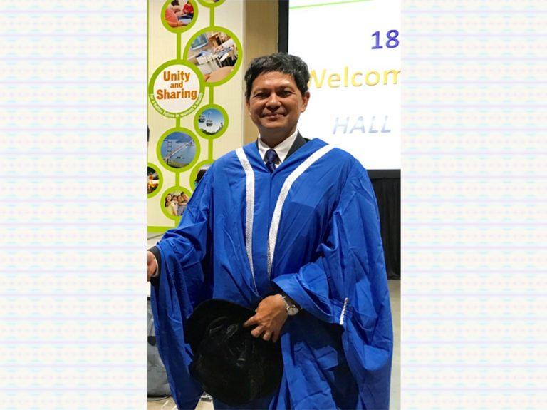 KKU Professor becomes AOFGO V.P.