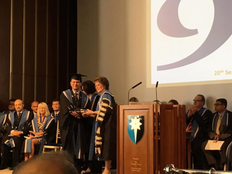 Faculty of Medicine Former Executive Administrator gain international recognition