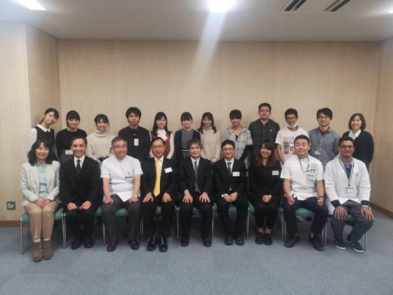 Khon Kaen University President and team visit Aichi Medical University, Japan