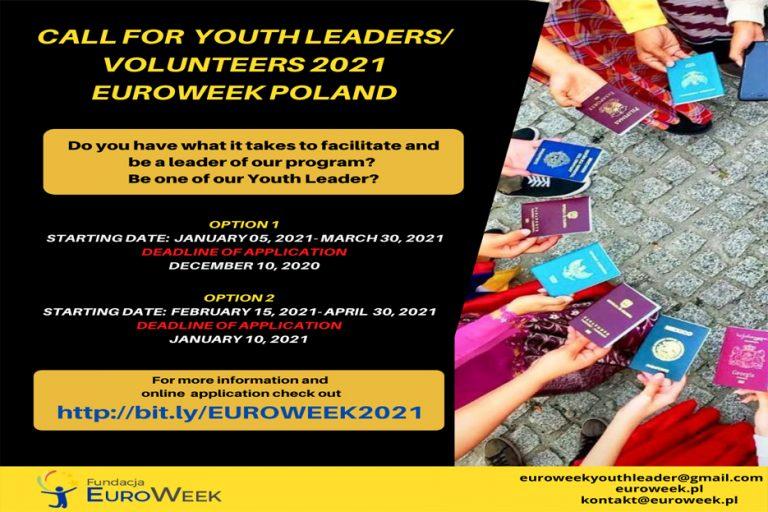 ประชาสัมพันธ์โครงการ 2021 THAI Youth Leadership and Voluntary Service in Poland