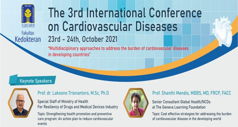 The 3rd International Conference on Cardiovascular Disease (IC-CVD), 23-24 October 2021