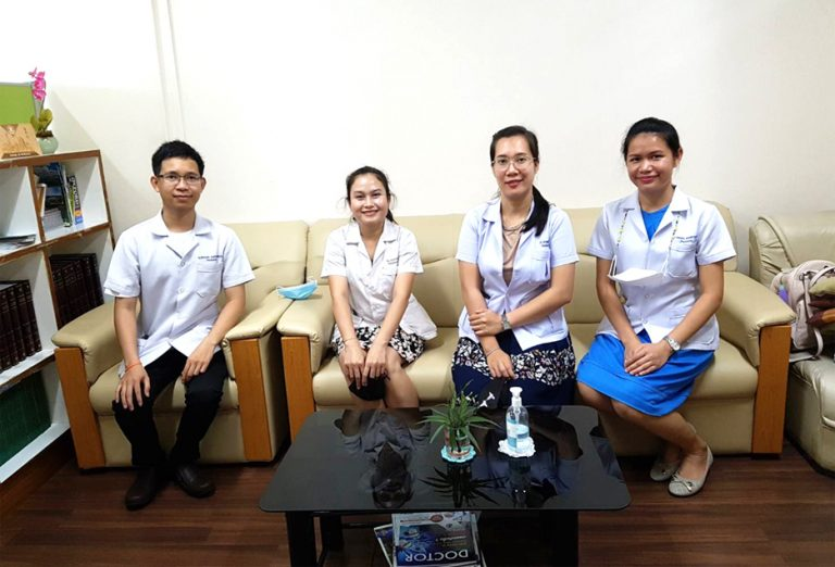 Welcoming exchange students from University of Health Sciences, Lao PDR